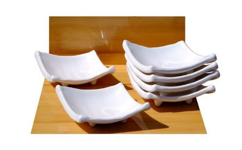 White diamond melamine dishes X6– Melamine plastic